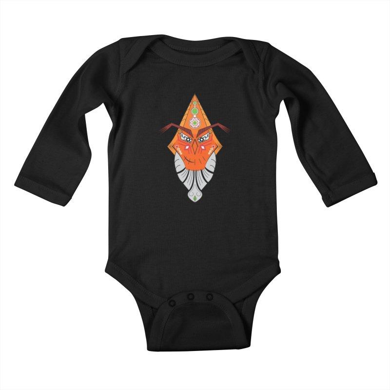 Kuker Kids Baby Longsleeve Bodysuit by hristodonev's Artist Shop