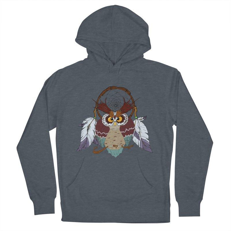 Dream Owl Women's Pullover Hoody by hristodonev's Artist Shop