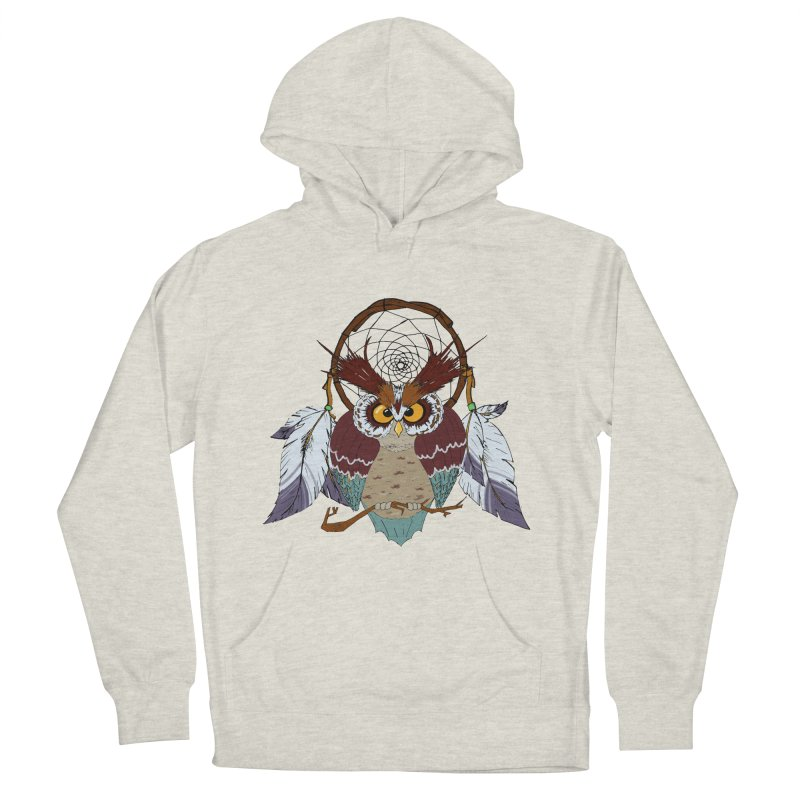Dream Owl Men's Pullover Hoody by hristodonev's Artist Shop