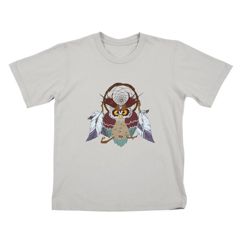 Dream Owl Kids T-Shirt by hristodonev's Artist Shop