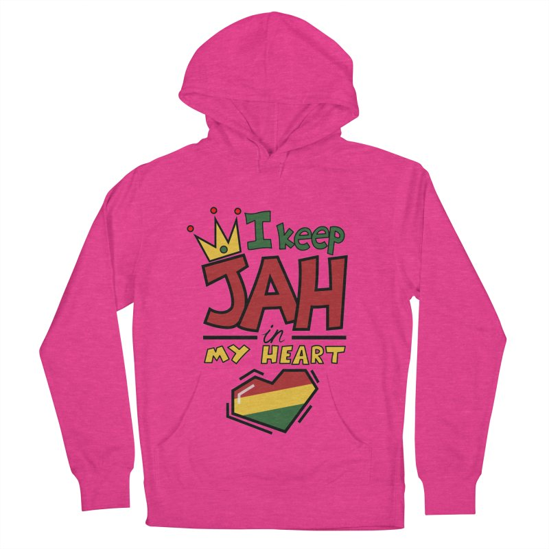 I keep Jah in my Heart Women's Pullover Hoody by Hristo's Shop