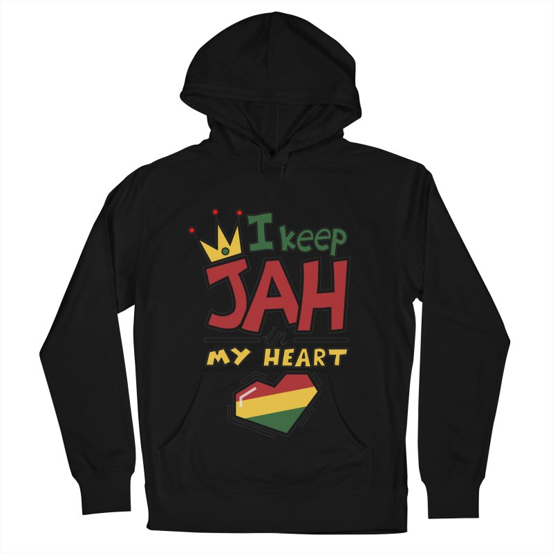 I keep Jah in my Heart Women's Pullover Hoody by hristodonev's Artist Shop