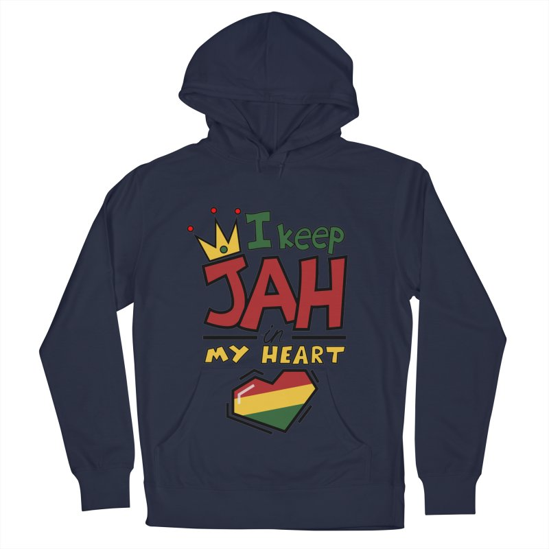 I keep Jah in my Heart Women's French Terry Pullover Hoody by Hristo's Shop