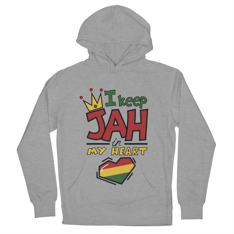 I keep Jah in my Heart Men's Pullover Hoody by hristodonev's Artist Shop