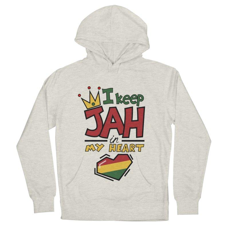 I keep Jah in my Heart Men's Pullover Hoody by hristodonev's Artist Shop