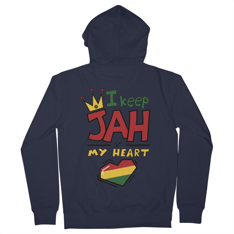 I keep Jah in my Heart Women's Zip-Up Hoody by Hristo's Shop