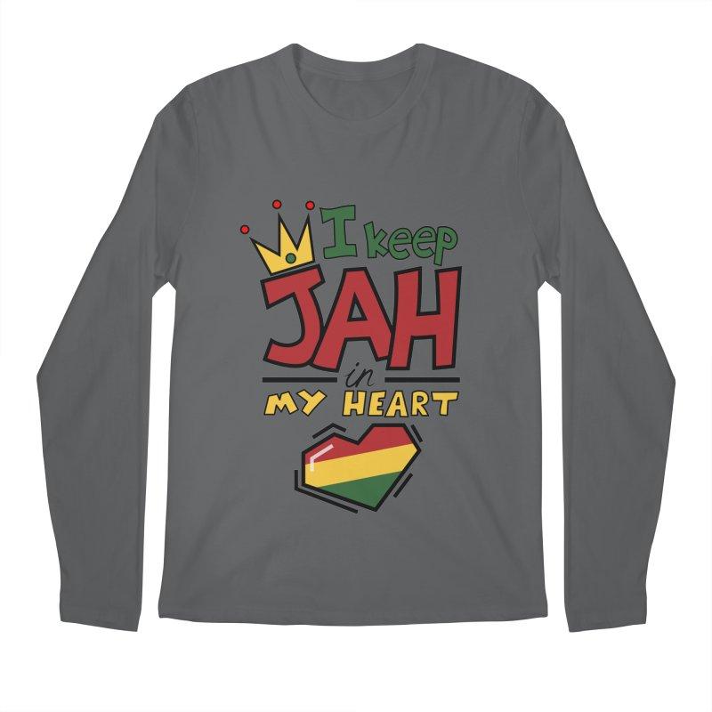 I keep Jah in my Heart Men's Longsleeve T-Shirt by hristodonev's Artist Shop