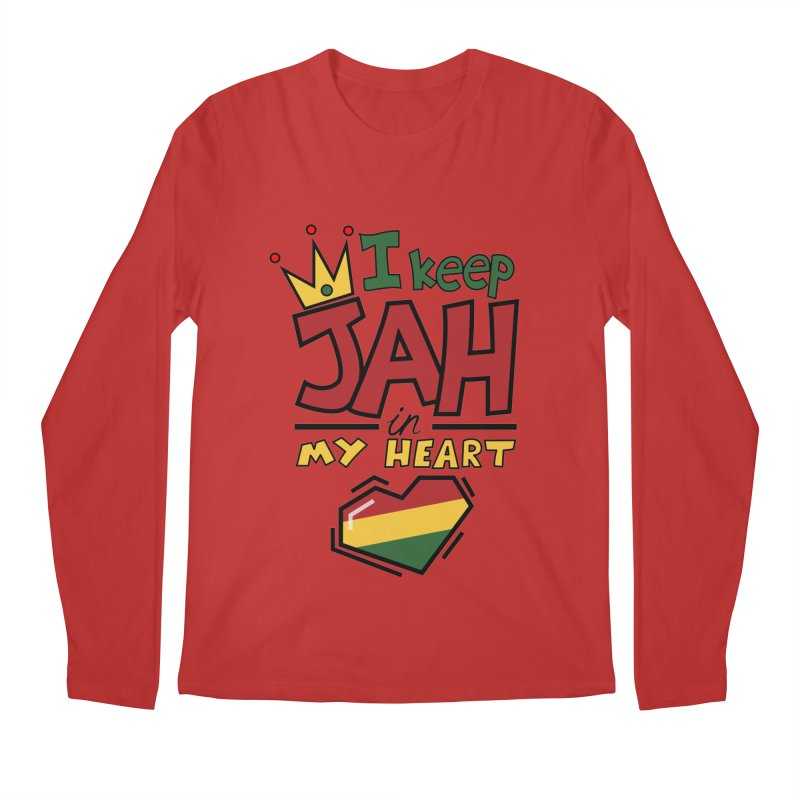 I keep Jah in my Heart Men's Longsleeve T-Shirt by hristodonev's Artist Shop