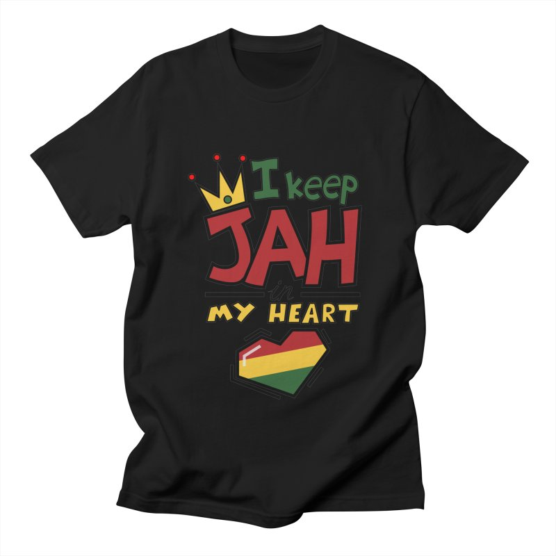 I keep Jah in my Heart Women's Unisex T-Shirt by Hristo's Shop