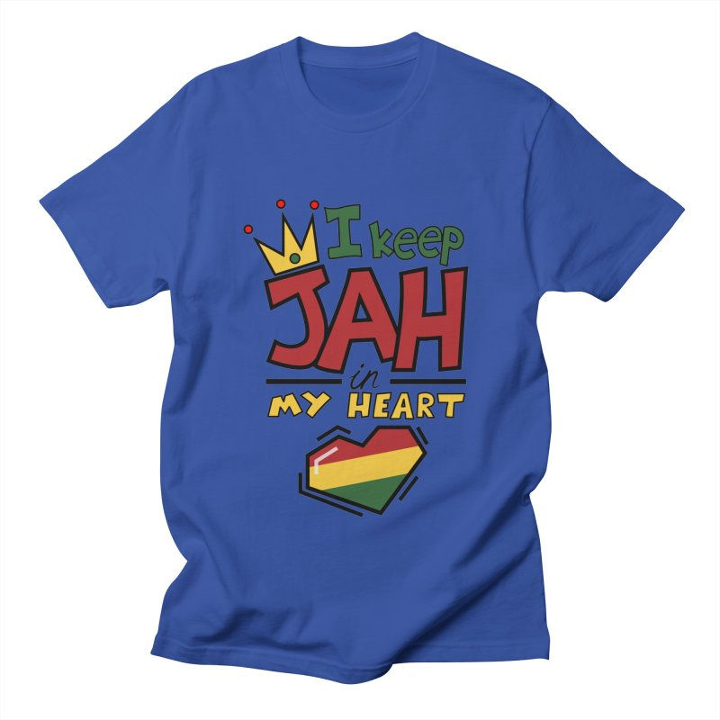 I keep Jah in my Heart Women's Regular Unisex T-Shirt by Hristo's Shop