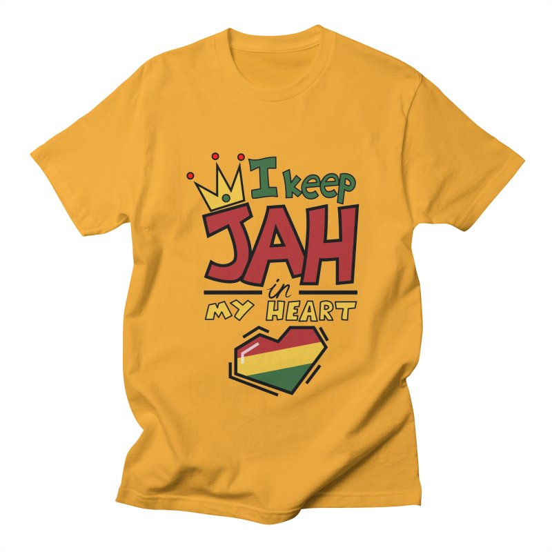 I keep Jah in my Heart Women's Unisex T-Shirt by hristodonev's Artist Shop