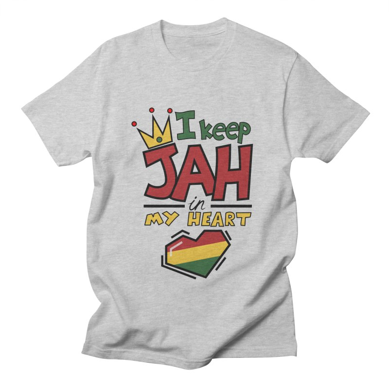 I keep Jah in my Heart Men's T-Shirt by Hristo's Shop