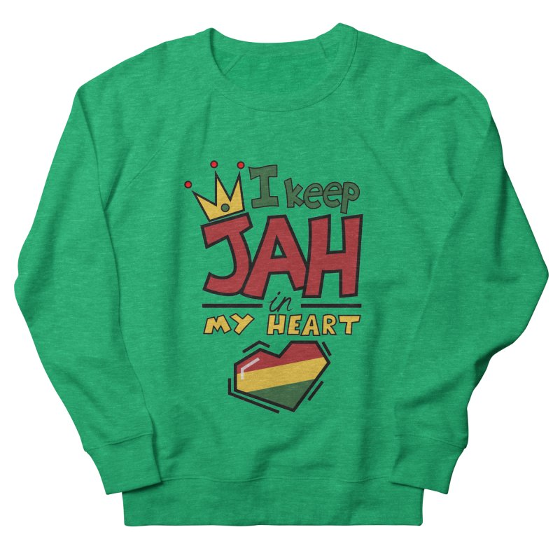I keep Jah in my Heart Men's Sweatshirt by Hristo's Shop