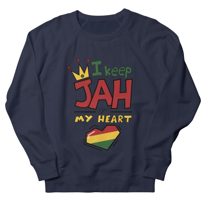 I keep Jah in my Heart Men's Sweatshirt by hristodonev's Artist Shop