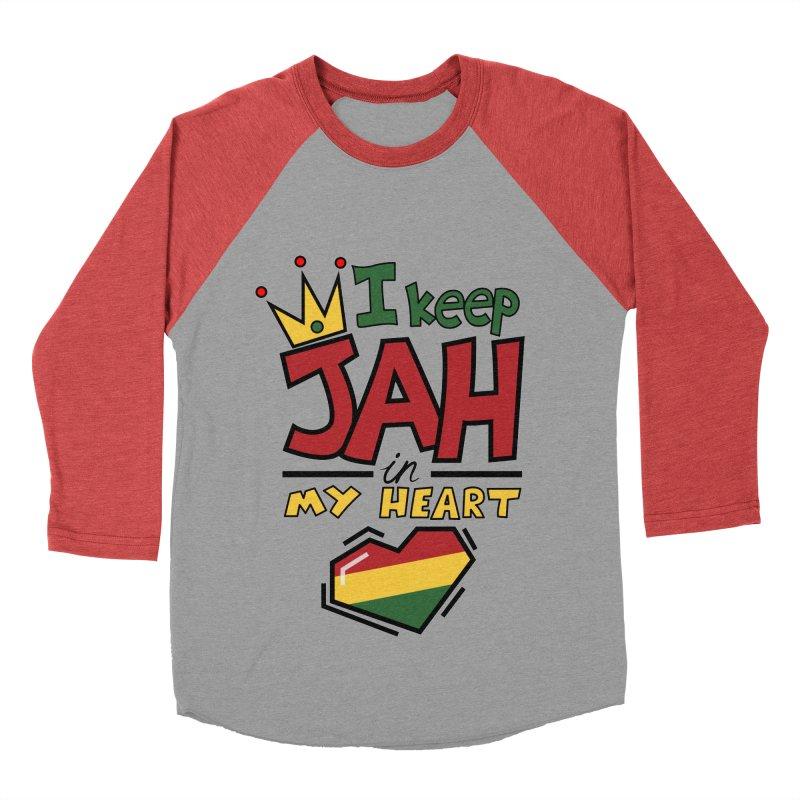 I keep Jah in my Heart Women's Baseball Triblend T-Shirt by hristodonev's Artist Shop