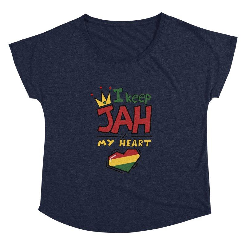 I keep Jah in my Heart Women's Dolman by hristodonev's Artist Shop