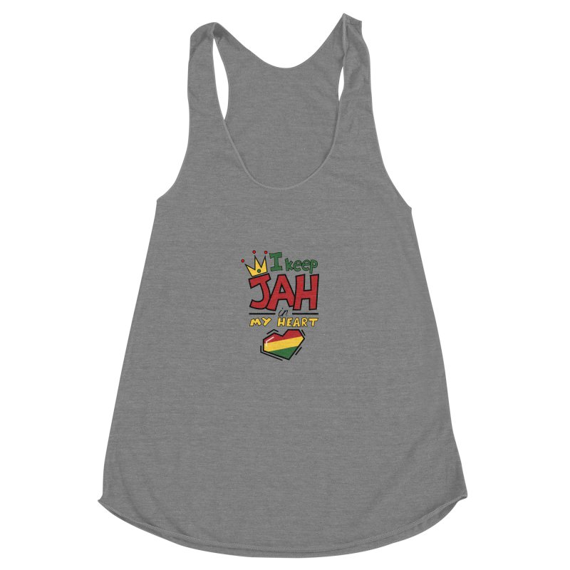 I keep Jah in my Heart Women's Tank by Hristo's Shop