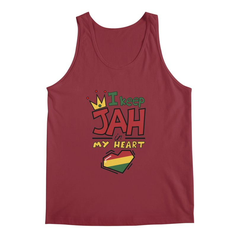 I keep Jah in my Heart Men's  by Hristo's Shop