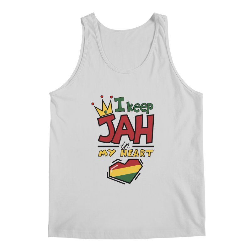 I keep Jah in my Heart Men's Tank by Hristo's Shop
