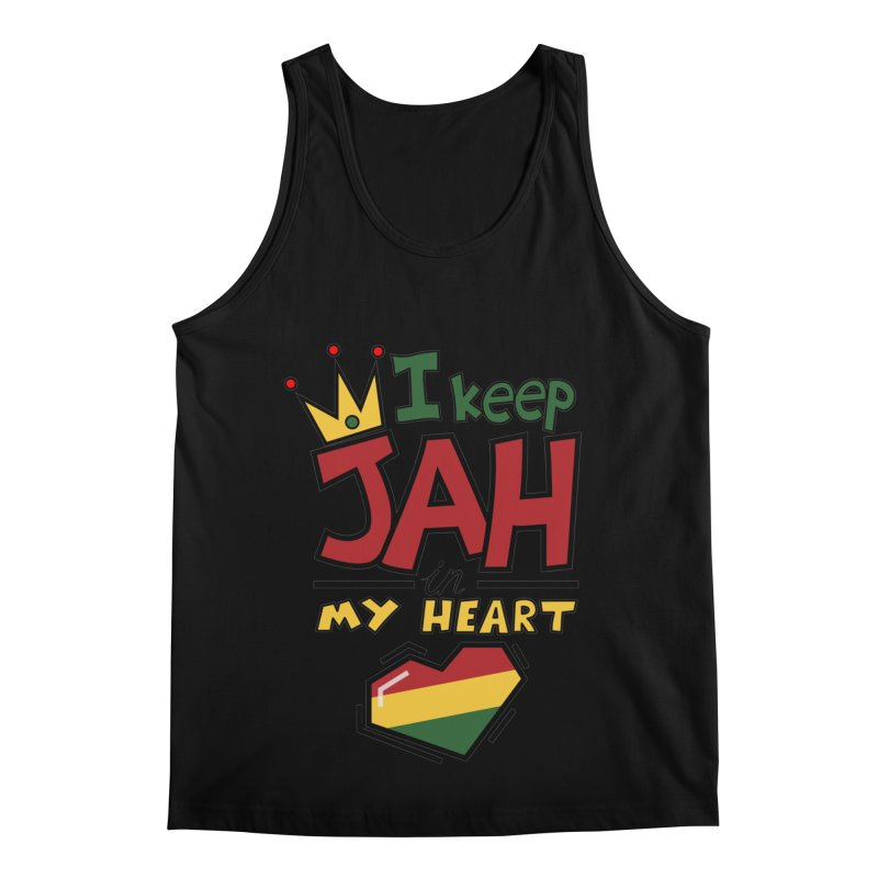 I keep Jah in my Heart Men's Regular Tank by Hristo's Shop