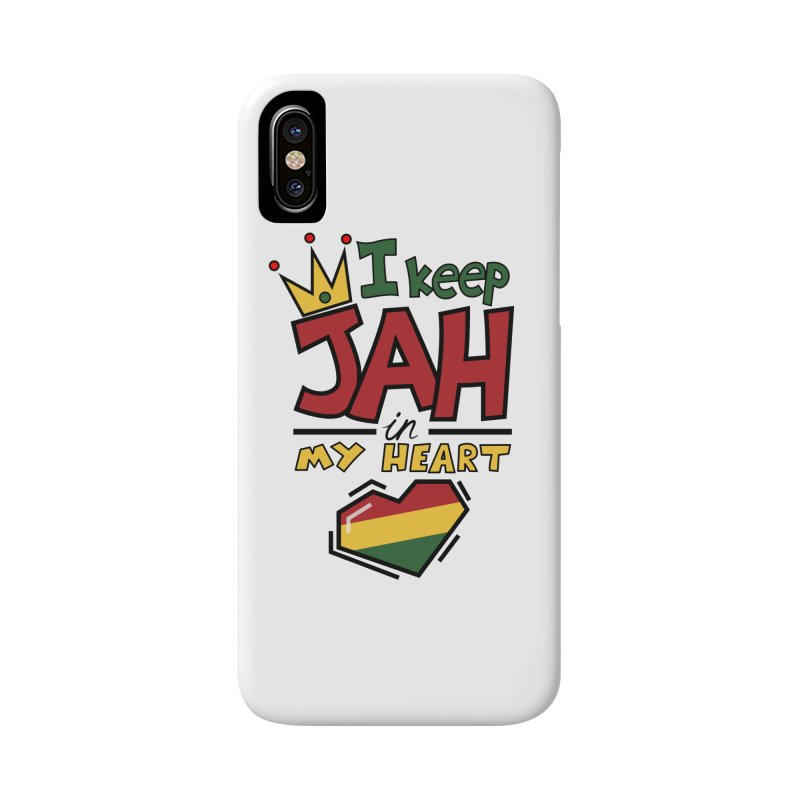 I keep Jah in my Heart Accessories Phone Case by hristodonev's Artist Shop