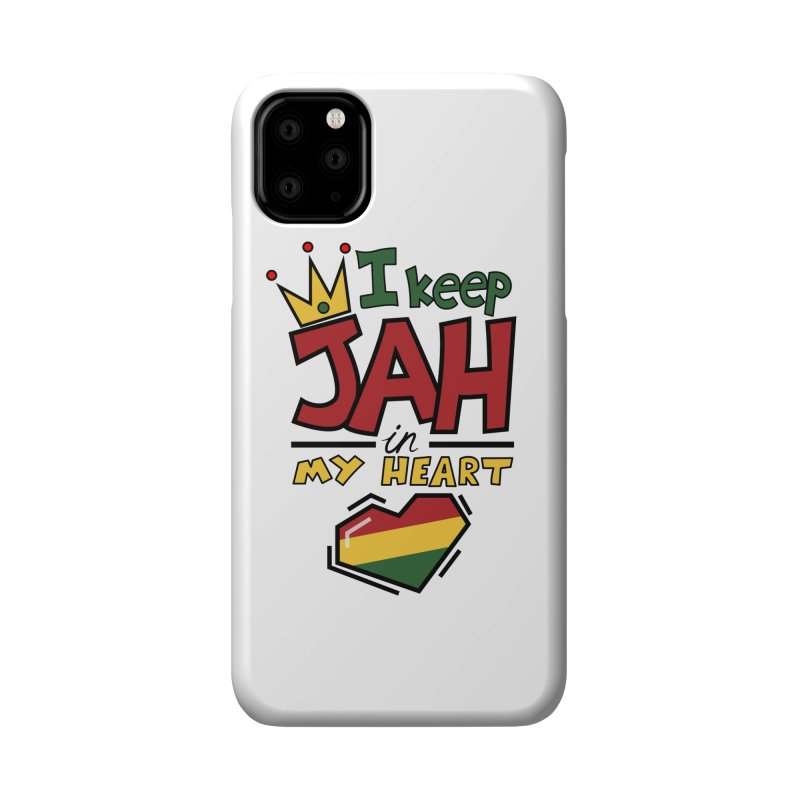 I keep Jah in my Heart Accessories Phone Case by Hristo's Shop