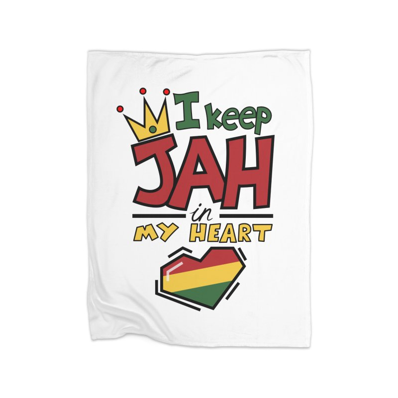 I keep Jah in my Heart Home Blanket by Hristo's Shop