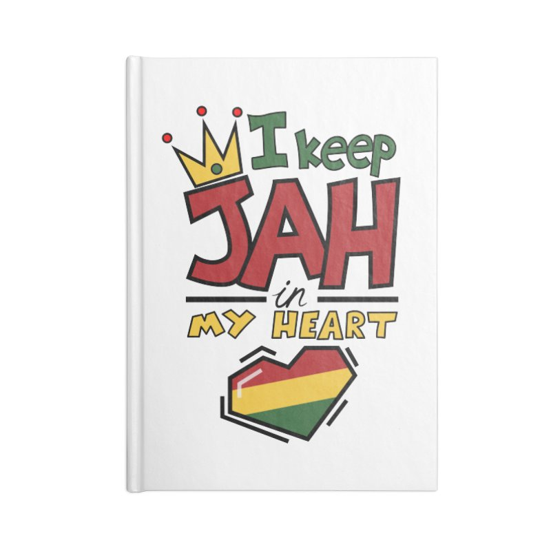 I keep Jah in my Heart Accessories Notebook by Hristo's Shop