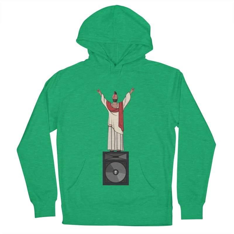 Raving Jeesus Women's Pullover Hoody by hristodonev's Artist Shop