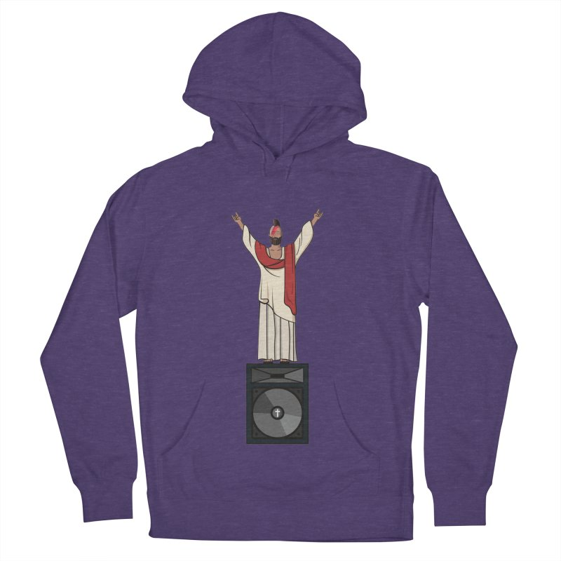 Raving Jeesus Men's Pullover Hoody by hristodonev's Artist Shop