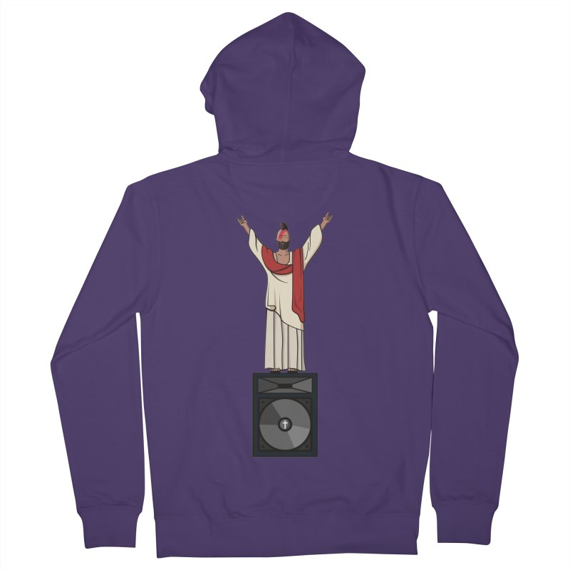 Raving Jeesus Women's Zip-Up Hoody by Hristo's Shop