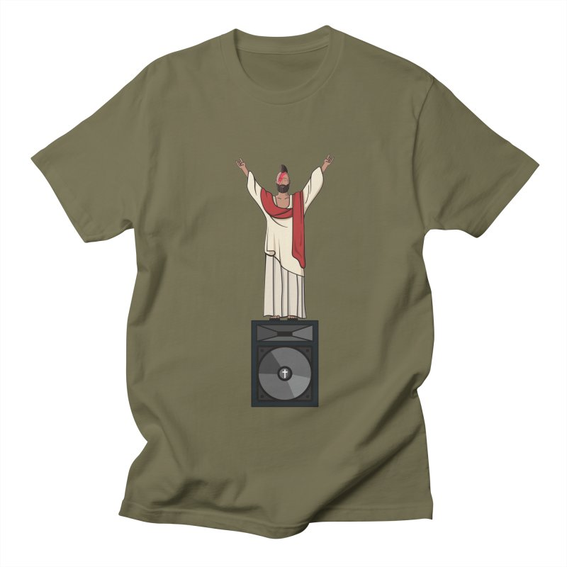 Raving Jeesus Women's Regular Unisex T-Shirt by Hristo's Shop