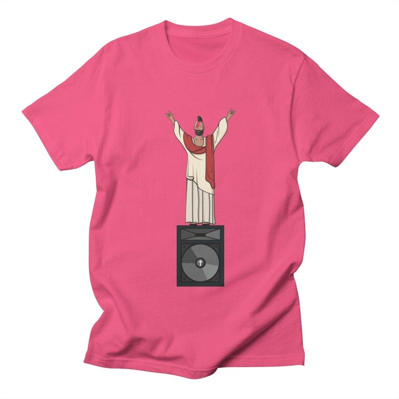 Raving Jeesus Men's T-Shirt by hristodonev's Artist Shop