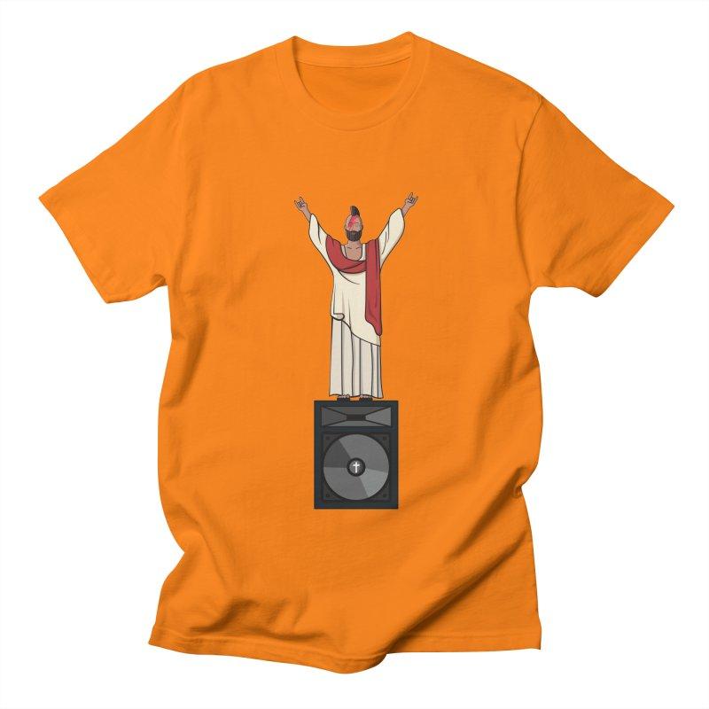 Raving Jeesus Men's T-Shirt by Hristo's Shop