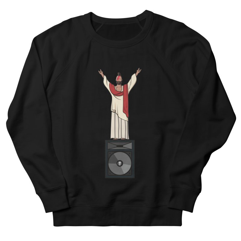 Raving Jeesus Women's Sweatshirt by hristodonev's Artist Shop
