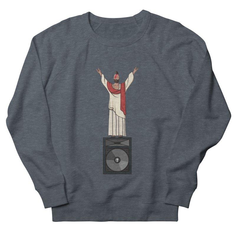 Raving Jeesus Men's Sweatshirt by Hristo's Shop