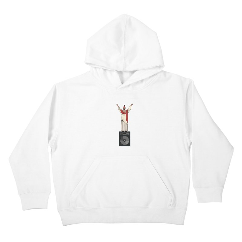Raving Jeesus Kids Pullover Hoody by Hristo's Shop