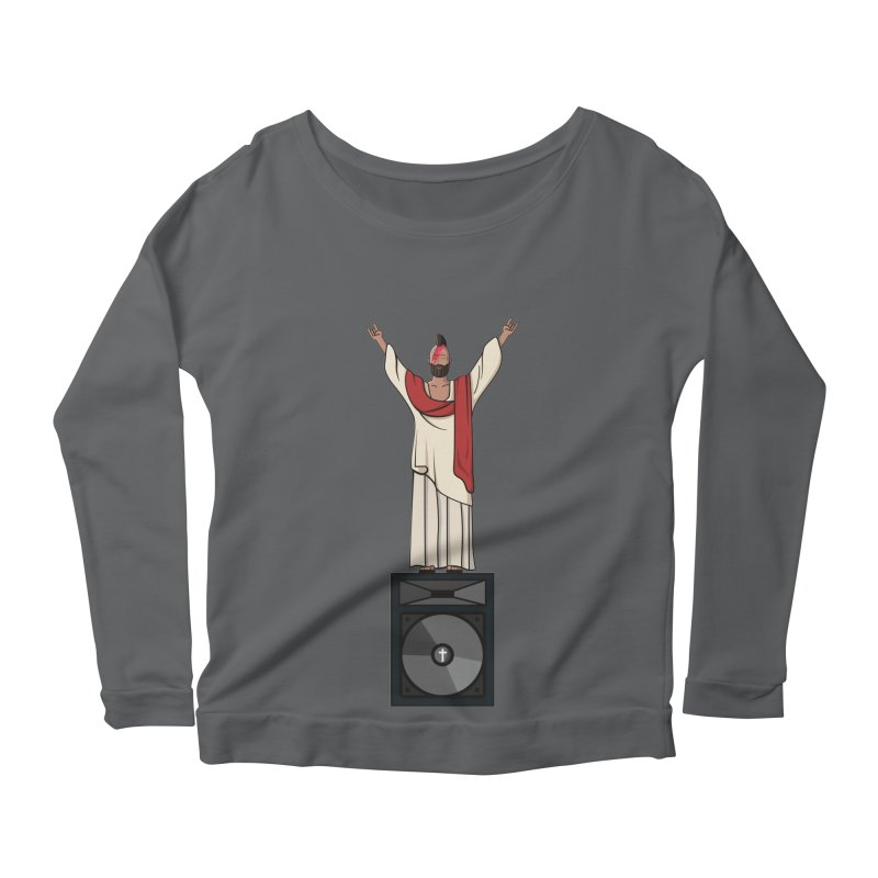 Raving Jeesus Women's Longsleeve T-Shirt by Hristo's Shop