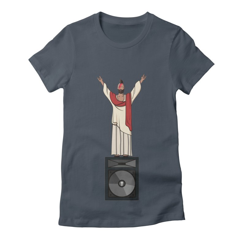 Raving Jeesus Women's T-Shirt by Hristo's Shop