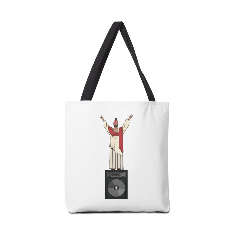 Raving Jeesus Accessories Tote Bag Bag by Hristo's Shop