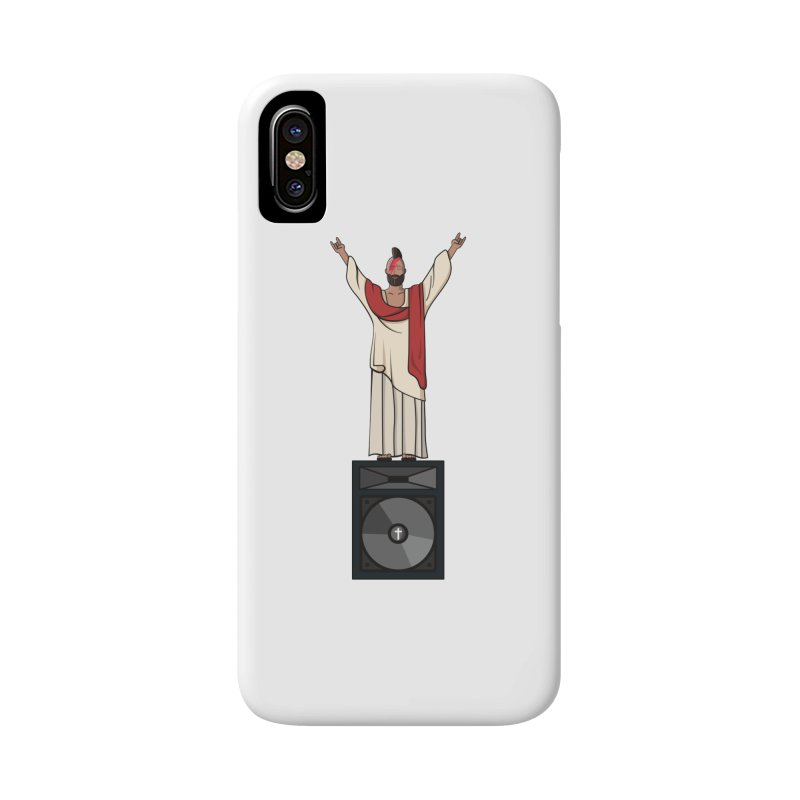 Raving Jeesus Accessories Phone Case by Hristo's Shop