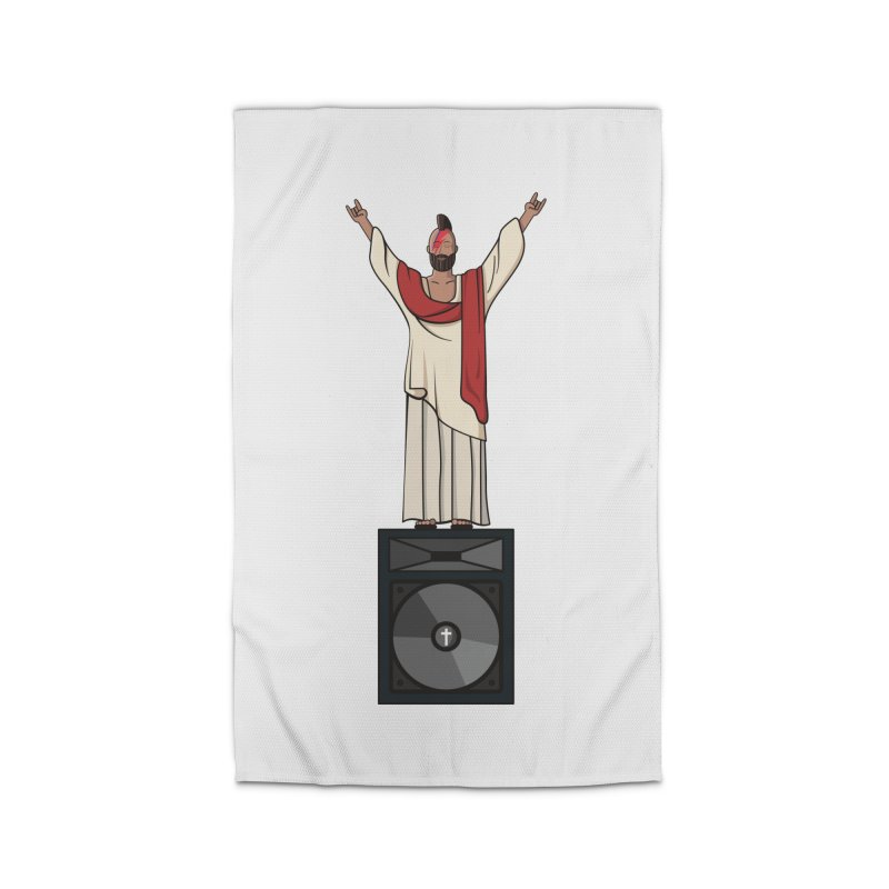 Raving Jeesus Home Rug by Hristo's Shop