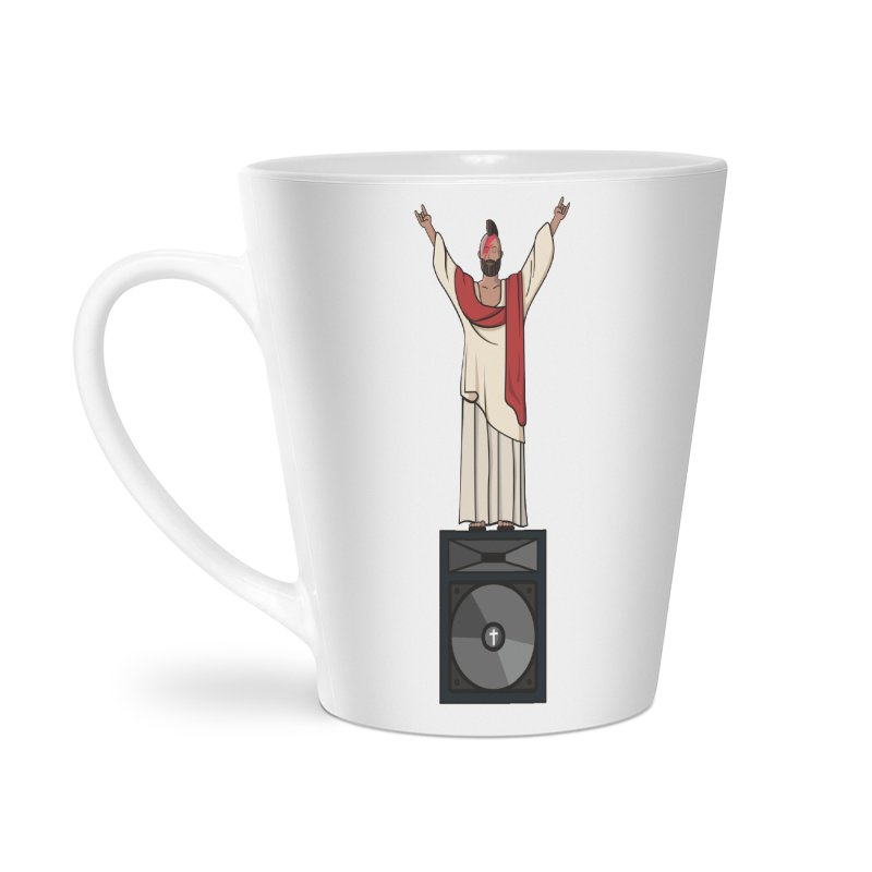 Raving Jeesus Accessories Latte Mug by Hristo's Shop