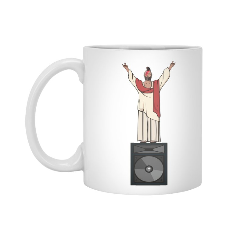 Raving Jeesus Accessories Mug by Hristo's Shop
