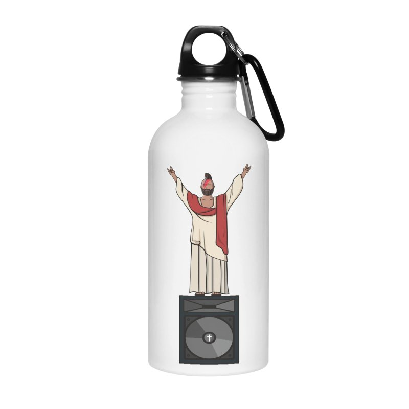 Raving Jeesus Accessories Water Bottle by Hristo's Shop