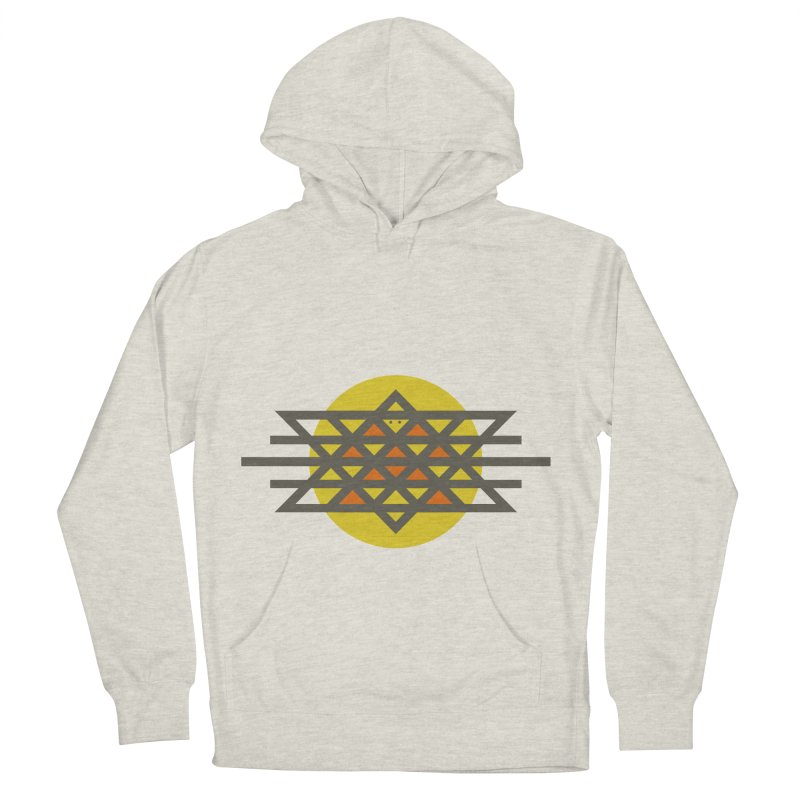 Sun Warrior Women's French Terry Pullover Hoody by Hristo's Shop