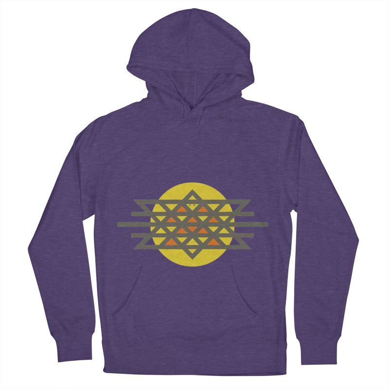 Sun Warrior Men's French Terry Pullover Hoody by Hristo's Shop
