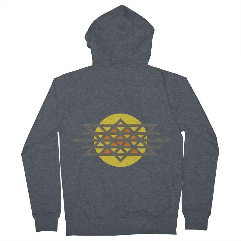 Sun Warrior Men's Zip-Up Hoody by Hristo's Shop