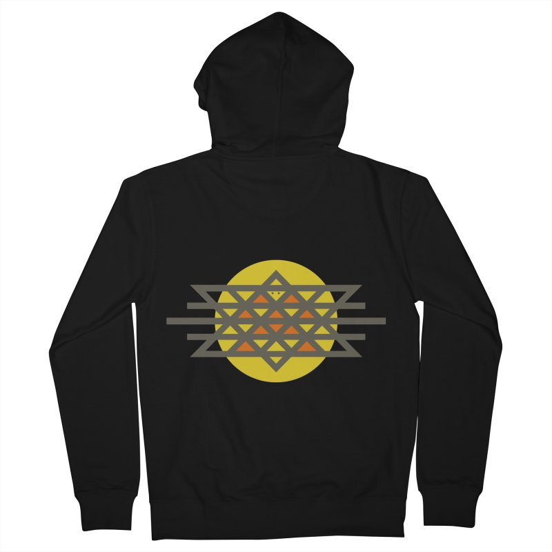 Sun Warrior Men's Zip-Up Hoody by hristodonev's Artist Shop