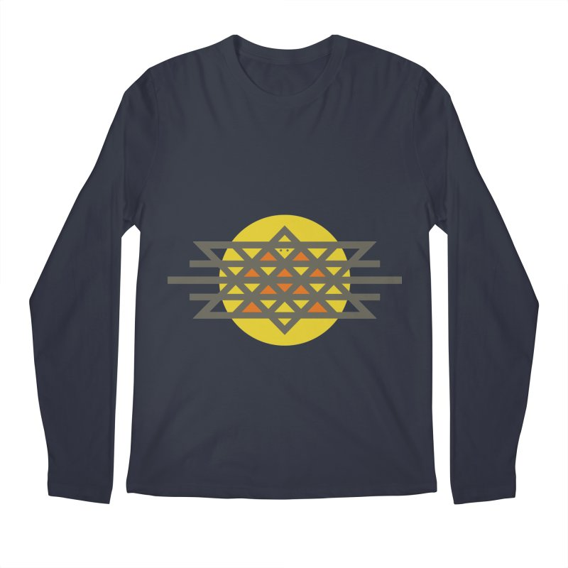 Sun Warrior Men's Longsleeve T-Shirt by hristodonev's Artist Shop